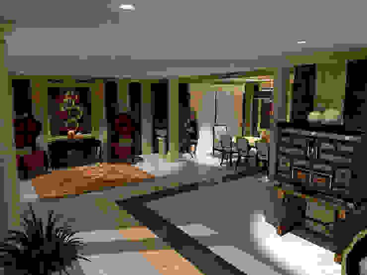Diseño clásico con pinceladas modernas / Classic design with a modern touch Salones de estilo clásico de Julia Design Clásico