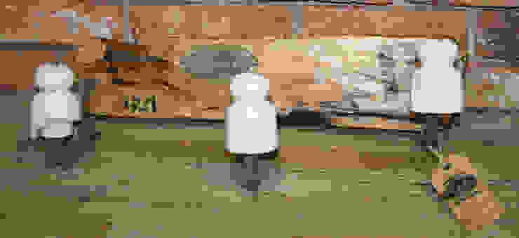 Modelo-PORCELANA:  de estilo industrial de muebles radio vintage, Industrial