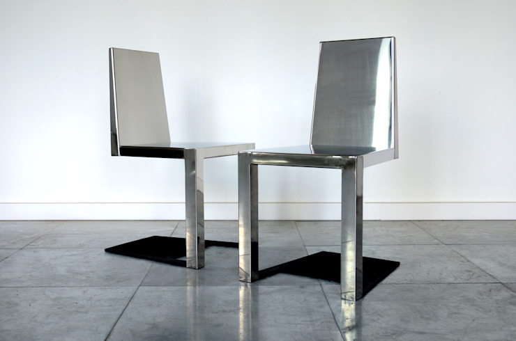 Stainless Steel Shadow Chair Duffy London Eklektik