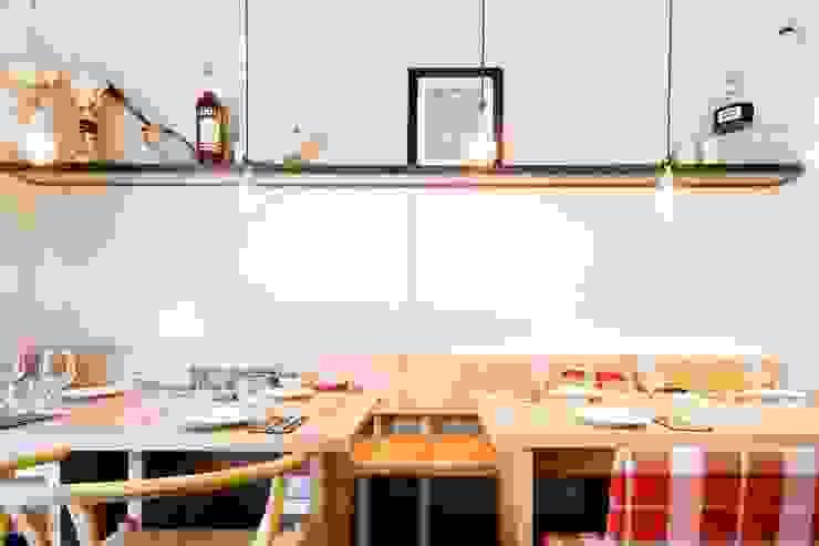 THE SNOB Restaurant Gastronomía de Piedra Papel Tijera Interiorismo