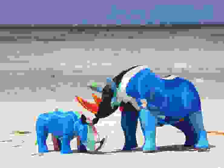 Tierfiguren aus Flipflops von Upcycling Deluxe Tropisch