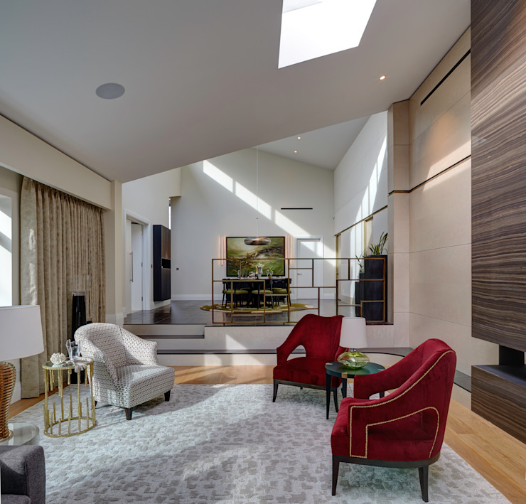 London Contemporary Home Casas por Hartmann Designs Ltd