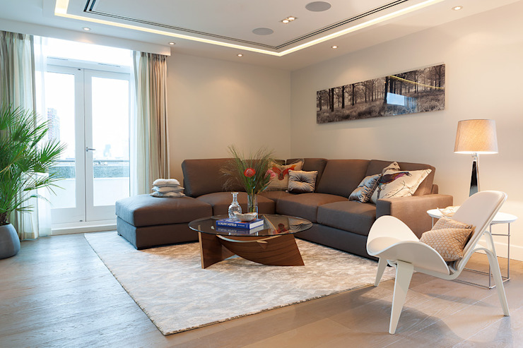 London Duplex Apartment من Hartmann Designs Ltd