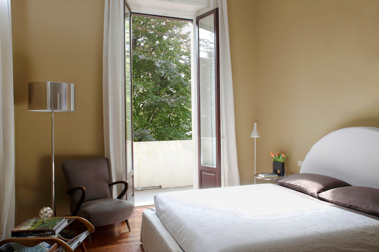 APARTMENT BIANCAMARIA Camera da letto moderna di PAOLO FRELLO & PARTNERS Moderno