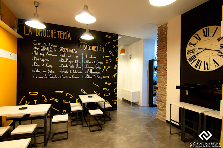 C2INTERIORISTAS Gastronomia in stile moderno