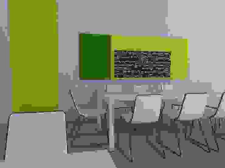 Zona de reunión de encargados de planta. Oficinas y tiendas de estilo industrial de MUMARQ ARQUITECTURA E INTERIORISMO Industrial