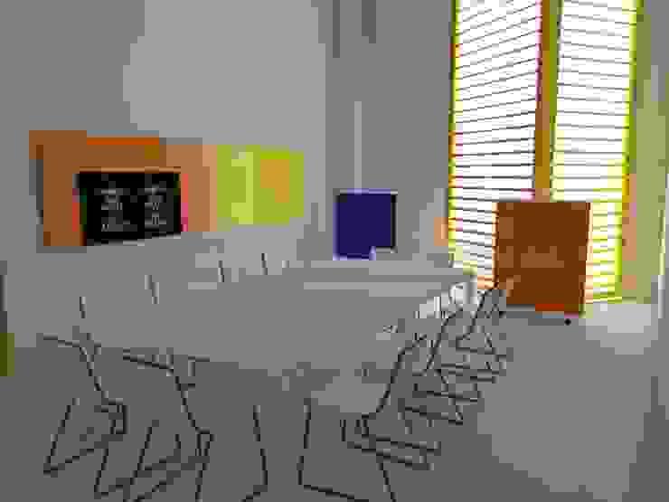 Zona de reunión. Oficinas y tiendas de estilo industrial de MUMARQ ARQUITECTURA E INTERIORISMO Industrial