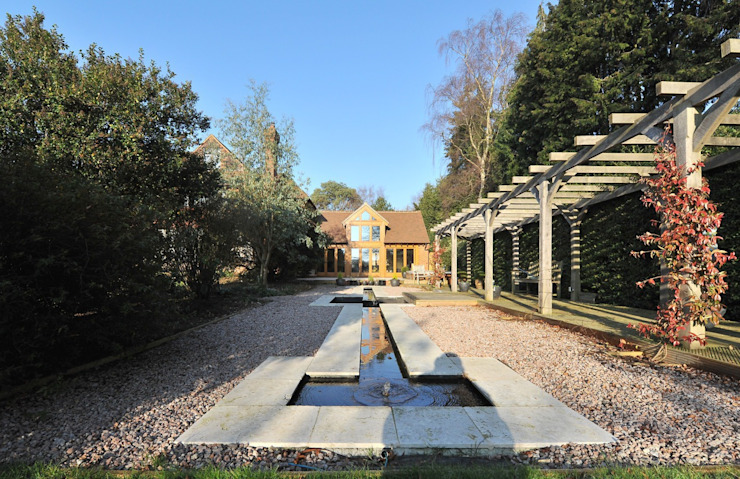 Country house extension: country  by Paul Wiggins Architects, Country