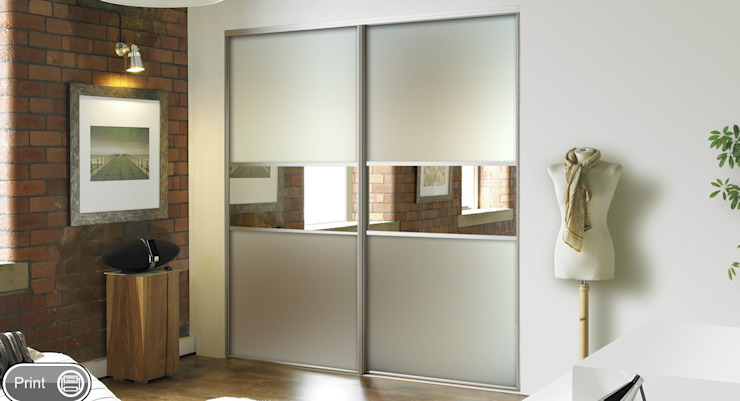 Mirror Sliding Doors by Wardrobe Design Online