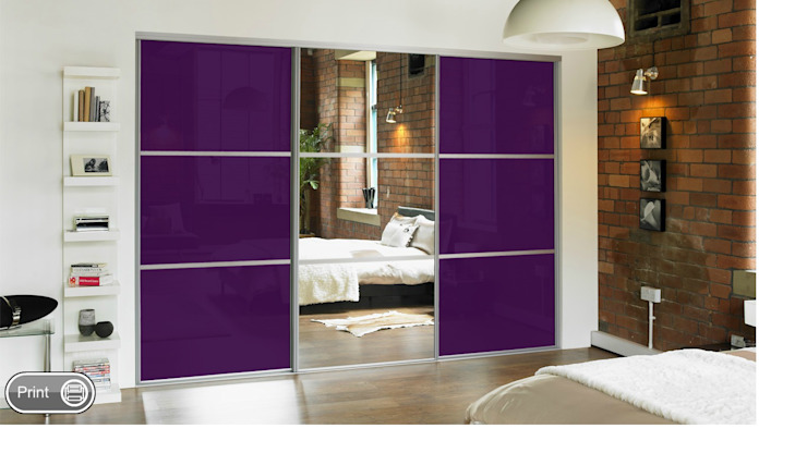 Mirror Sliding Doors by Wardrobe Design Online
