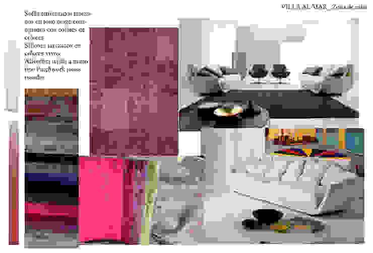 Estudio de materiales Salón Casas de CANOCARTERETdesign&execution
