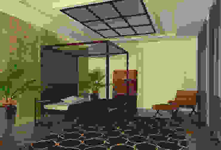Dormitorio Principal infografia Casas de CANOCARTERETdesign&execution