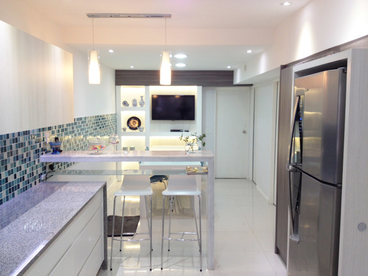 Estudio Nicolas Pierry Modern Kitchen