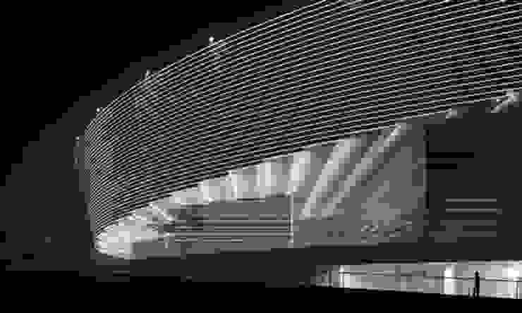 Grand Theatre Tianjin, 2012 Moderne Häuser von Conceptlicht GmbH Modern