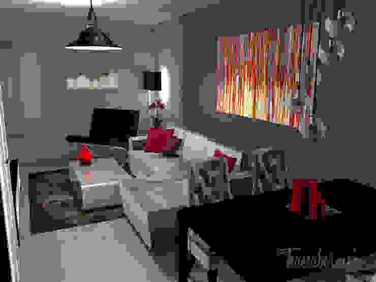 Proyecto e-decoración en Tenerife Salones de estilo ecléctico de Diseñadora de Interiores, Decoradora y Home Stager Ecléctico