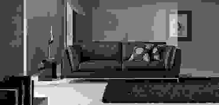 Sofá Moderno Beltrán de Ámbar Muebles Moderno