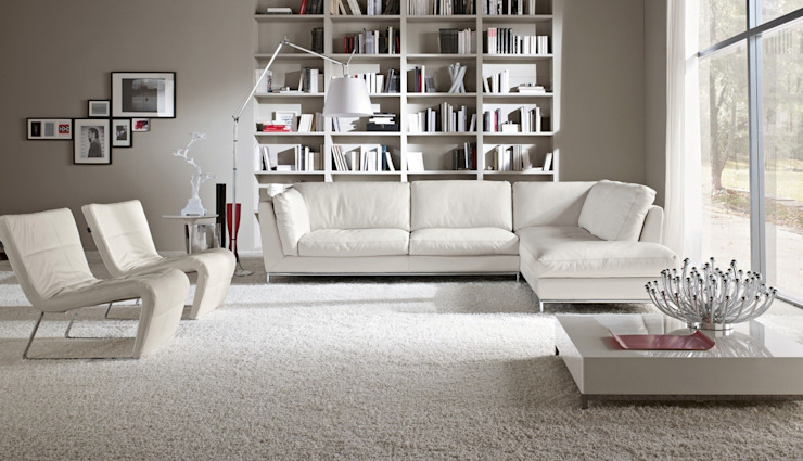 Sofá Chaise Longue Beltrán de Ámbar Muebles Moderno