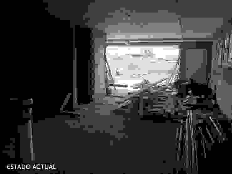 Distribución del sótano de Lidia:  de estilo industrial de  Diseñadora de Interiores, Decoradora y Home Stager, Industrial