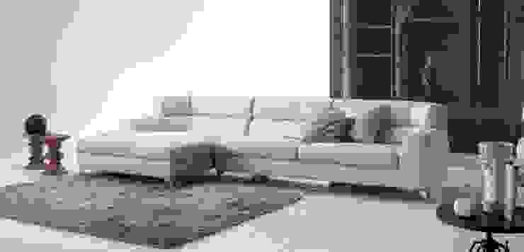 Sofá Chaise Longue Josef de Ámbar Muebles Moderno