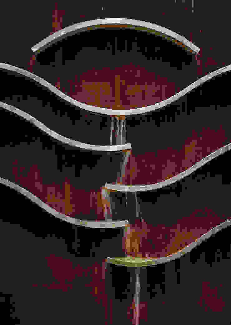 Detalle fuente Balcones y terrazas de estilo moderno de Slabon Forja Creativa Moderno