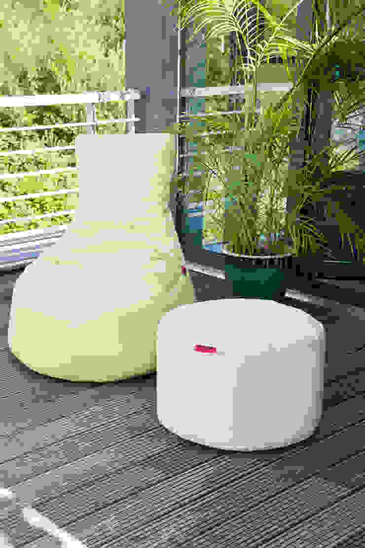 OUTBAG Slope mit Rock in Plus lime und beige Global Bedding GmbH & Co.KG Balkon, Veranda & TerrasseMöbel Kunststoff
