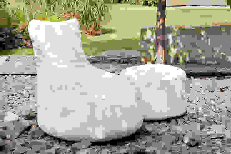 OUTBAG Slope mit Rock in Light weiß Global Bedding GmbH & Co.KG Balkon, Veranda & TerrasseMöbel Kunststoff Weiß