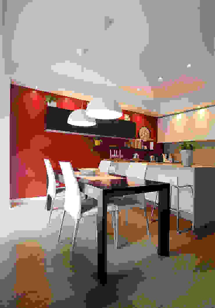 Pranzo Sala da pranzo moderna di Filippo Colombetti, Architetto Moderno