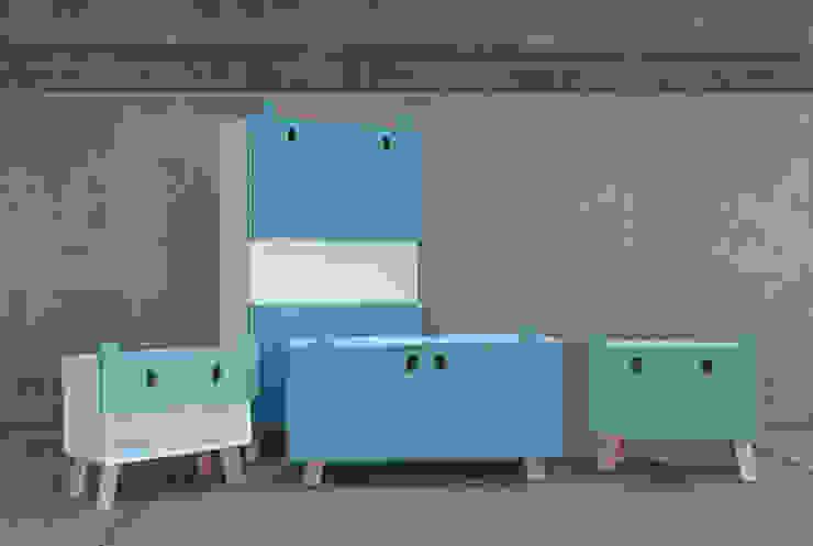 Colección Mostros de Oscar Nuñez-Taller de Diseño Moderno
