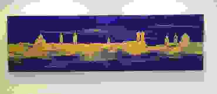 Skyline München Moderne Esszimmer von Wohnen & Kunst Modern