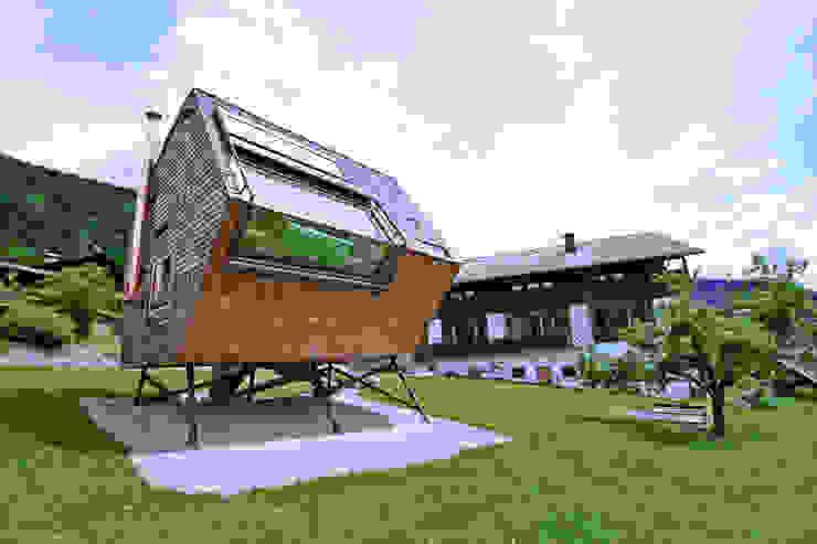 Maisons modernes par Aberjung Design Agency Moderne
