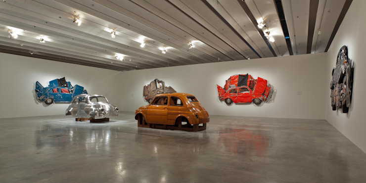 DMH Gallery 1 Modern museums by Ron Arad Architects Modern