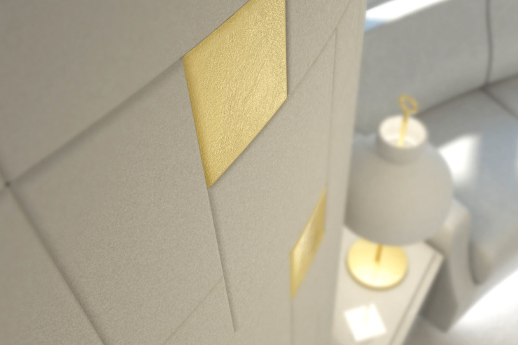 Piastrelle in pelle Lapèlle Design di Lapèlle Design