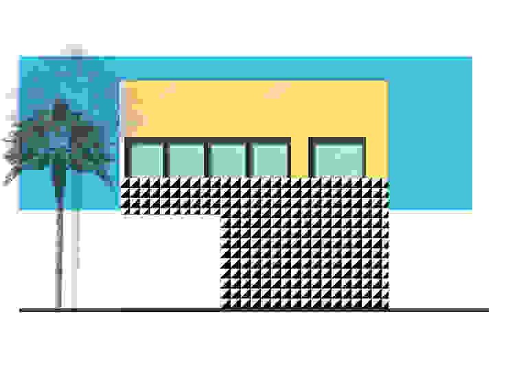 Fachada de 21 Arquitectura Moderno