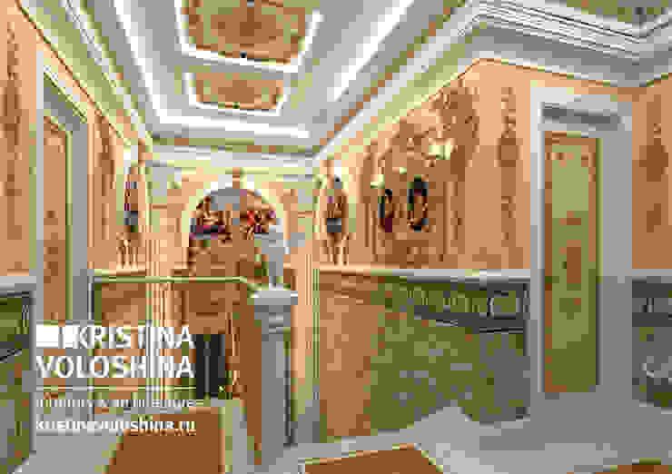 классический английский стиль Коридор, прихожая и лестница в классическом стиле от kristinavoloshina Классический
