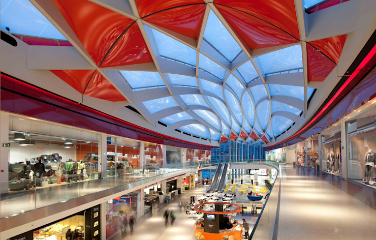 Mediacite Modern shopping centres by Ron Arad Architects Modern
