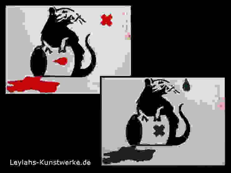 Banksy - Toxic Rat von Leylahs-Kunstwerke