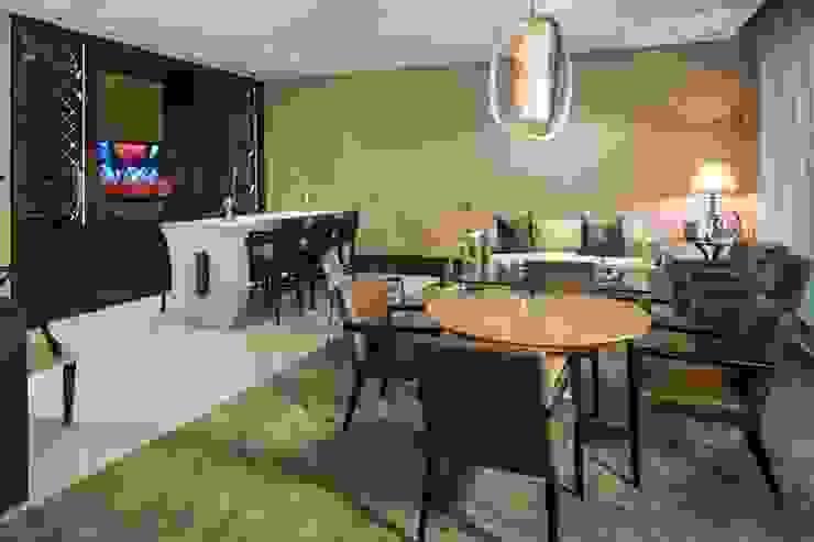 Salon moderne par Rousseau Arquitectos Moderne