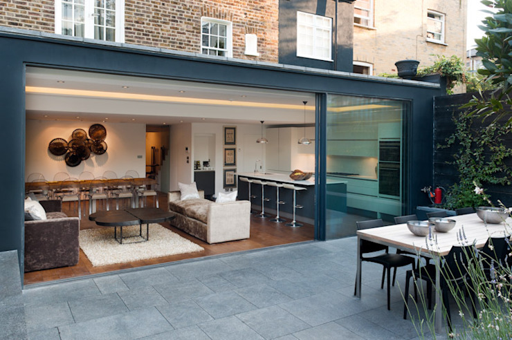 London Townhouse モダンな 家 の The Silkroad Interior Design モダン