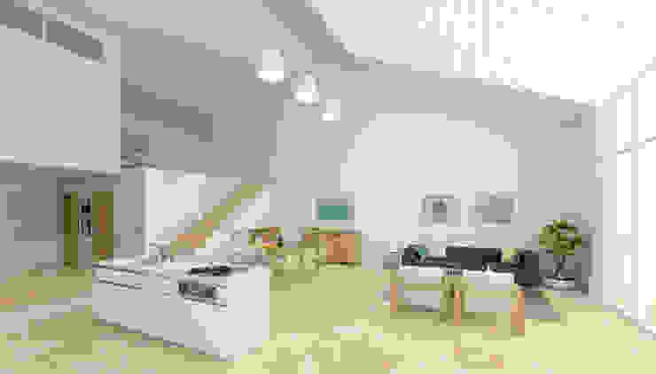 Casa Mediterránea Casas de AC Studio