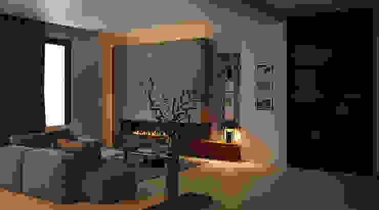 Abitazione privata Case moderne di ANTONIO VITIELLO Moderno