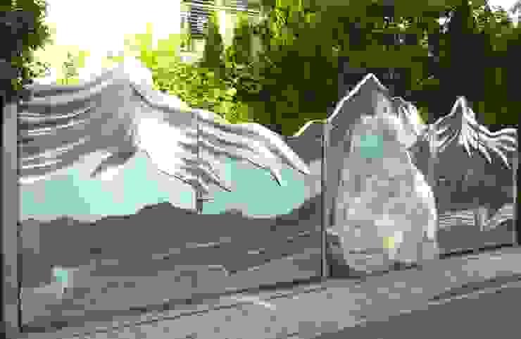 Jardin de style  par Edelstahl Atelier Crouse - individuelle Gartentore,
