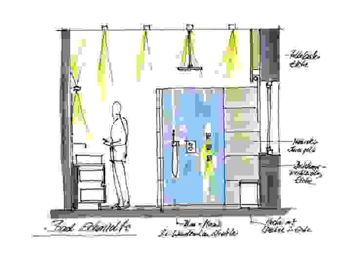 Badgestaltung S.: modern  von Planungsbüro Oczko,Modern