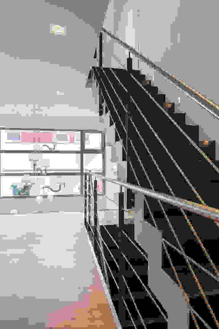 Moderne gangen, hallen & trappenhuizen van Einwandfrei - innovative Malerarbeiten oHG Modern