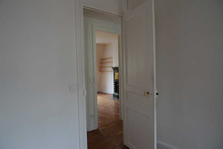 Appartement de 60m2, 18ème par Philippe Demougeot