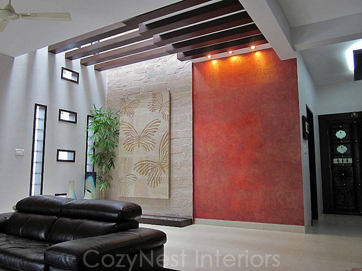 Chinta Residence Modern living room by Cozy Nest Interiors Modern