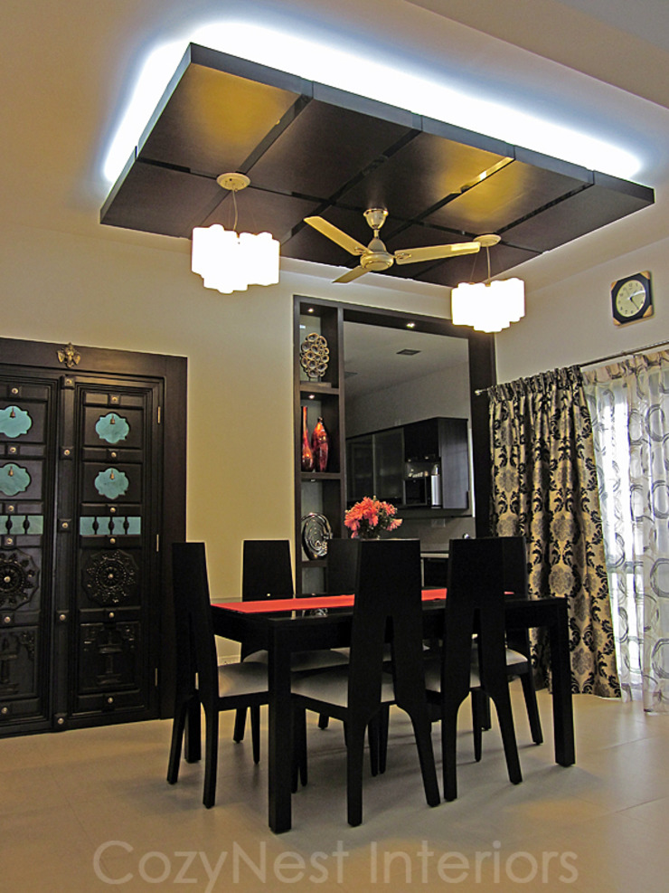 Chinta Residence Modern dining room by Cozy Nest Interiors Modern