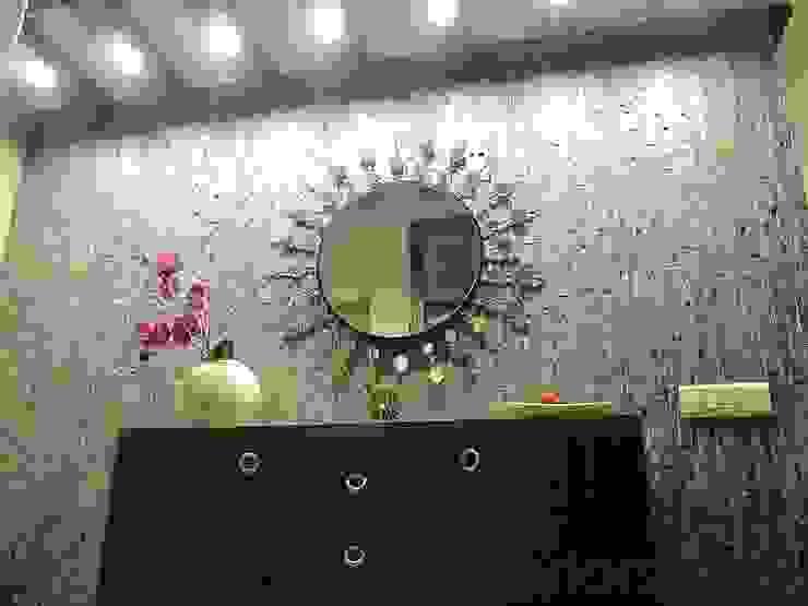 Agarwal Residence Modern corridor, hallway & stairs by Cozy Nest Interiors Modern