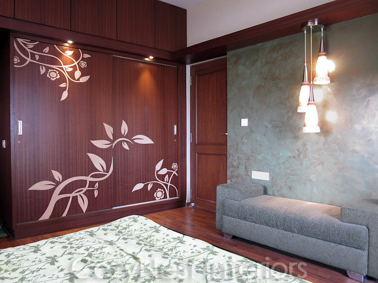 Bharani Residence Modern Bedroom by Cozy Nest Interiors Modern