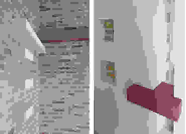 Attico in centro città Pareti & Pavimenti in stile minimalista di Laura Marini Architetto Minimalista