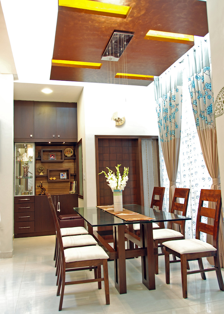 A.B.Residence Modern dining room by Cozy Nest Interiors Modern